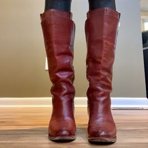 Size 8.5 Frye Jackie Tall Riding Boot